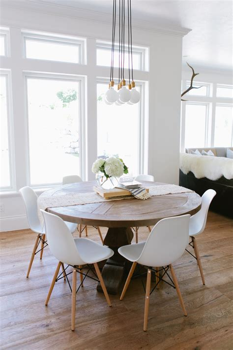 Mixing Dining Tables & Chairs  House Of Jade Interiors Blog. Contemporary Dining Room Chandeliers. Dining Room Paintings. Home Design Living Room. Home Gym Wall Decor. Room Signage. Partitions For Rooms. Apothecary Decor. Tall Dining Room Table Sets