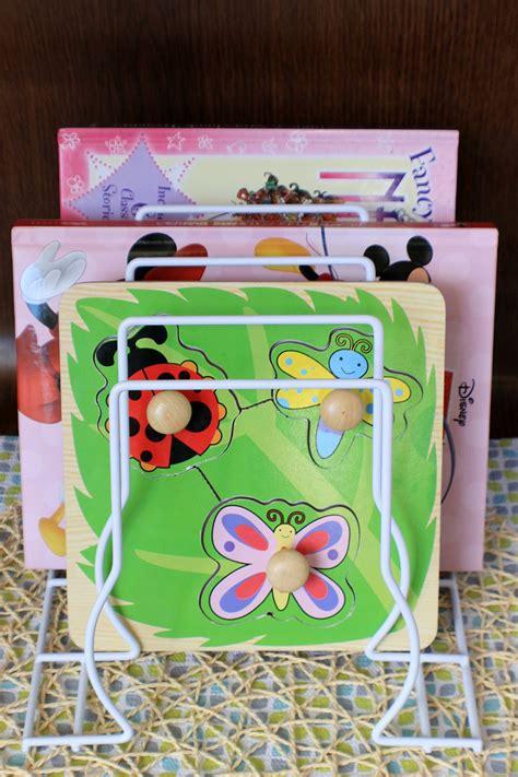 amazing mom hacks  organize  childs toys  crafts puzzle storage puzzle organization