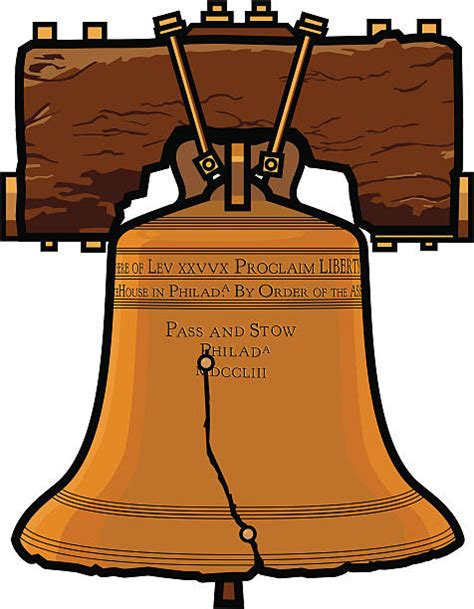 Liberty Bell Clipart Liberty Bell Clip Vector Images Illustrations Istock