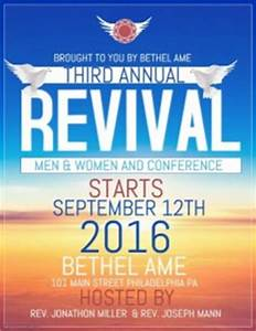 customizable design templates for church revival With free church revival flyer template