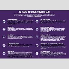 Alzorg 10 Ways To Love Your Brain  The Senior List