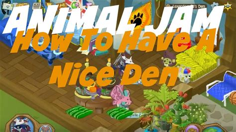Animal Jam Den Wallpapers - animal jam how to a den