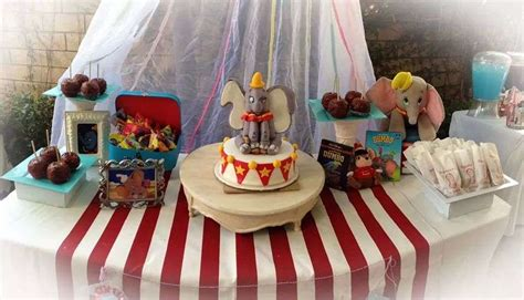 Dumbo Baby Shower - dumbo circus baby shower ideas photo 1 of 29