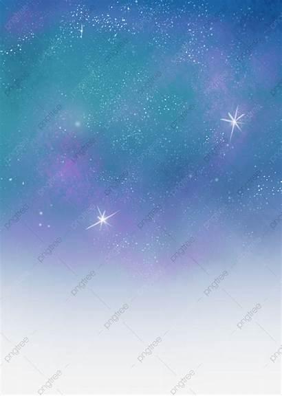 Starry River Sky Um Psd Torne Recurso