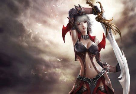 Female Warrior - Other & Anime Background Wallpapers on ...
