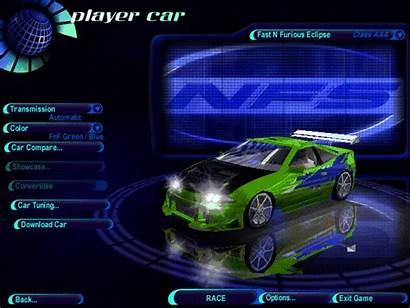 Speed Need Cars Pursuit Fast Furious Eclipse