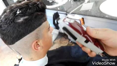 taglio capelli uomo sfumatura estrema youtube