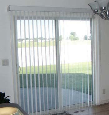 window treatments for sliding glass doors interior fans
