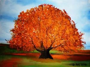 Bilder Bäume Gemalt : baum im herbst acrylbilder von doris pohl acrylgem ldegalerie baum gem ldegalerie modern ~ Orissabook.com Haus und Dekorationen