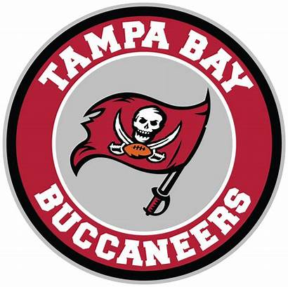 Tampa Bay Buccaneers Circle Sticker Decal Nfl