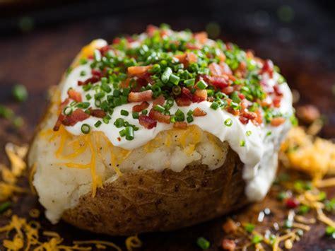 ultimate baked potato recipe  eats