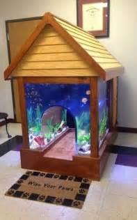 Cool Dog House Fish Tank
