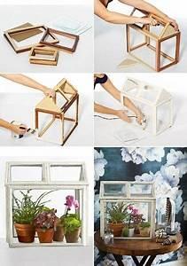 Kleines Gewächshaus Ikea : gew chshaus aus bilderrahmen diy pinterest ~ Michelbontemps.com Haus und Dekorationen