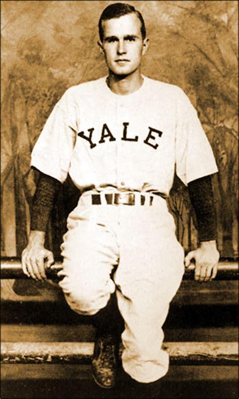 george hw bush autographed baseball ted williams joe