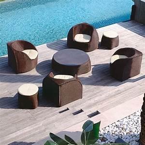 Polyrattan Lounge Rund : rattan lounge m bel f r terrasse und garten von roberti rattan italien ~ Indierocktalk.com Haus und Dekorationen