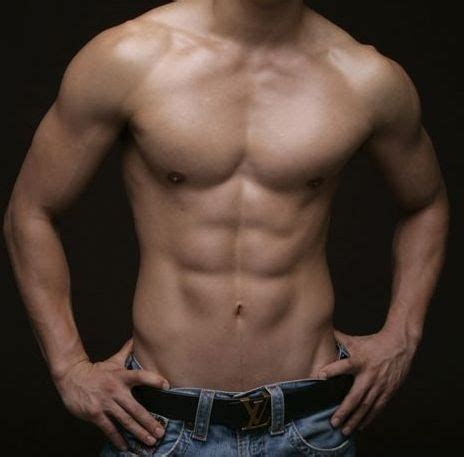 male body with