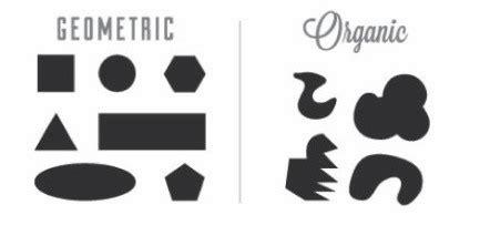 organic shapes definition world of exle