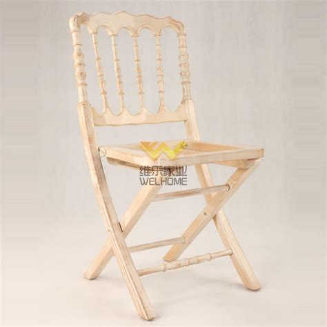 wooden folding napoleon chair for wedding event china