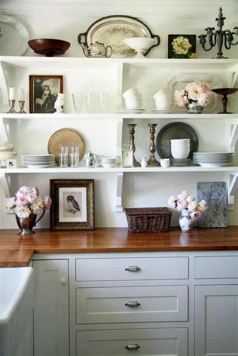 Gorgeous Open Shelving In The Kitchen!  Paint It What I