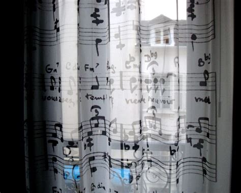 Note Bedroom Curtains by Theme Your Room To