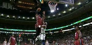LeBron James POSTERIZES Jason Terry Off the Lob ...