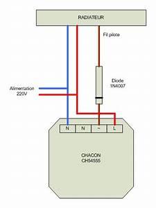 Radiateur Electrique Sur Circuit Prise : diode fp diode fil pilote pour radiateur lectrique ~ Carolinahurricanesstore.com Idées de Décoration