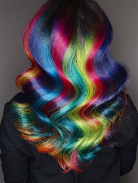 Hair Color Hairstyles by Rainbow Hairstyles By Ursula Launchpad