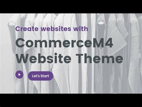 Ecommerce Template Mobirise commercem4 bootstrap ecommerce template mobirise youtube