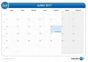 Vacances Juillet 2017 : calendrier juillet 2017 ~ Medecine-chirurgie-esthetiques.com Avis de Voitures