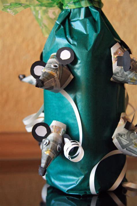 flaschen originell verpacken selber machen geldgeschenke selber machen money gifts geld geschenke originell gestalten mit dieser idee