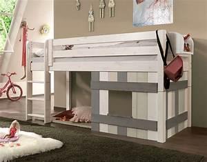 Jugendliche Betten : kinderhochbett mit leiter und h tte aus holz kids paradise ~ Pilothousefishingboats.com Haus und Dekorationen