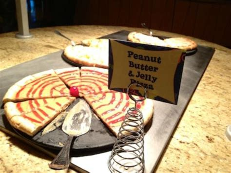 Peanut Butter & Jelly Pizza! - Picture of Goofy's Kitchen ...