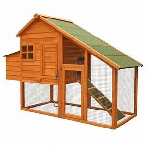 Cabane Pour Poule : poulailler clapier cage pour poule en bois avec pondoir achat vente poulailler ~ Melissatoandfro.com Idées de Décoration