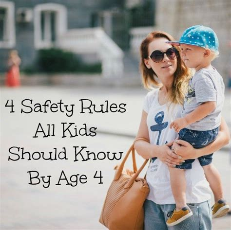 4 safety all should before age 4 176 | 4159b0897682cafce20c2827023e2b3c
