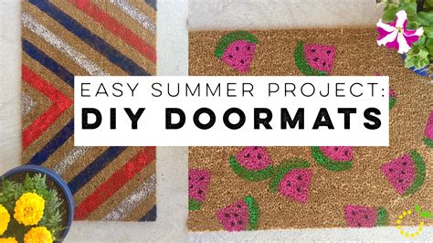 Summer Doormats by Easy Summer Project Diy Doormats 183 Sweet Lemon Made