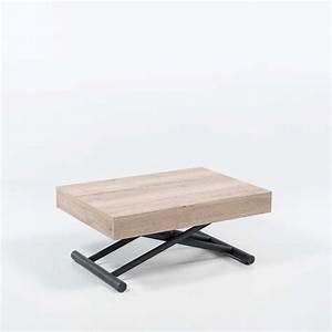 Table Basse Reglable Hauteur : table basse reglable hauteur maison et salle de bain ~ Carolinahurricanesstore.com Idées de Décoration