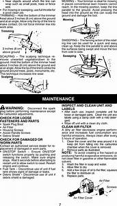 Weed Eater 530163333 Instruction Manual Om  Featherlite
