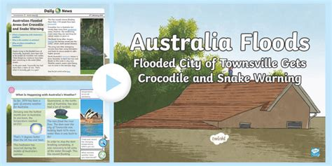 * New * Uks2 Australia Floods Daily News Powerpoint
