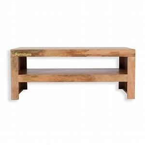 Table Tv But : tns furniture mansa mango coffee table tv stand ~ Teatrodelosmanantiales.com Idées de Décoration