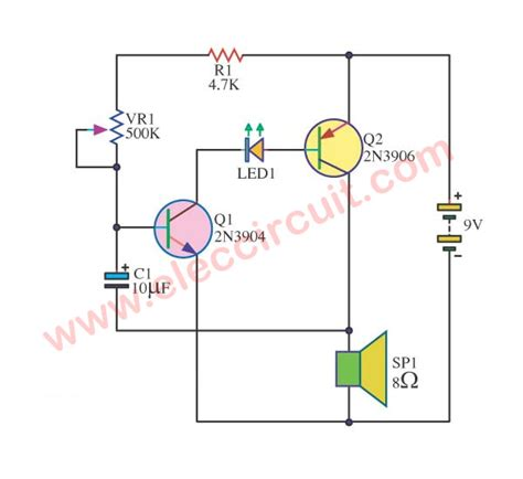 Simple Sound Effects Circuits Eleccircuit