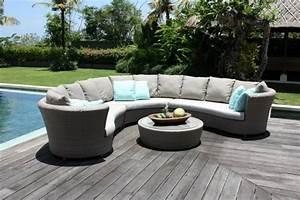 Spa En Bois Pas Cher : fein salon jardin rond haus design ~ Premium-room.com Idées de Décoration