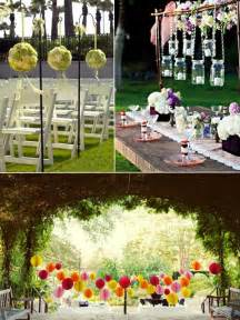 wedding decorations wedding ideas 15 intelligent ideas for an outdoor garden wedding 2014 vponsale wedding custom