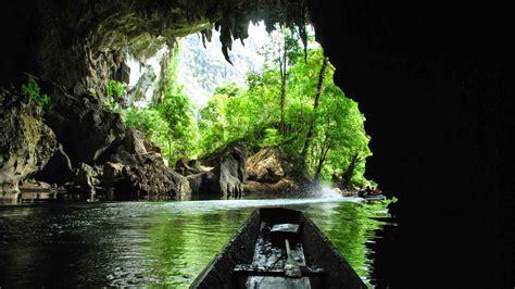 kong lor cave laos real life space mountain