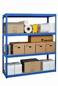 Crémaillère étagère Charge Lourde : etagere charge lourde modulable profondeur 50cm ~ Premium-room.com Idées de Décoration