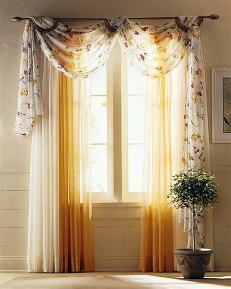 Swag Curtains For Living Room by Gardinen Dekorationsvorschl 228 Ge F 252 R Ein Sch 246 Nes Zimmer