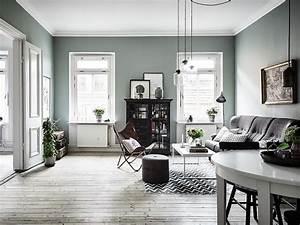 Peinture Vert De Gris : d couvrir l 39 endroit du d cor murs vert de gris ~ Melissatoandfro.com Idées de Décoration