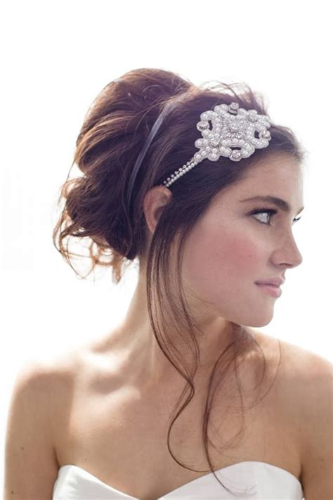 17 best images about wedding hair bands on