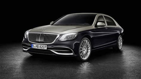 2019 Mercedesmaybach Sclass Doubles Down On Luxury