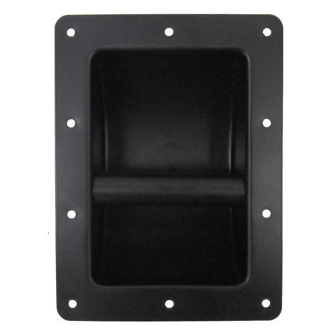 seismic audio new black metal recessed pa dj speaker