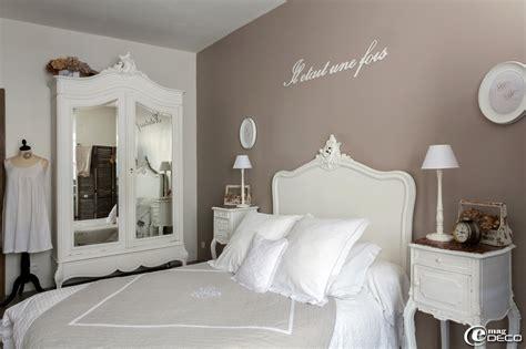 deco chambre campagne romantique idee decoration